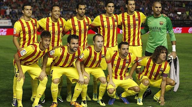 3d6f096546887 El Barça no gana con la senyera - MARCA.com