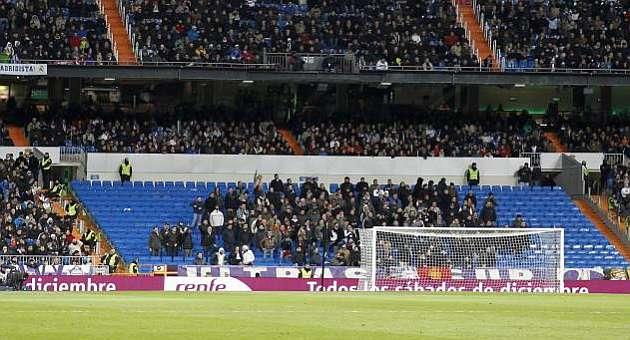 Un Bernabéu sin ultras