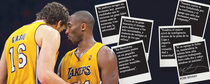 Hermano Pau: Kobe a coraz�n abierto sobre Gasol
