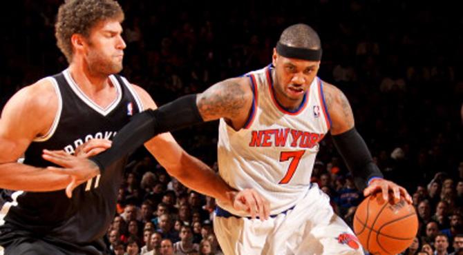 Carmelo Anthony: Ahora mismo Nueva York es el hazmerre�r de la NBA