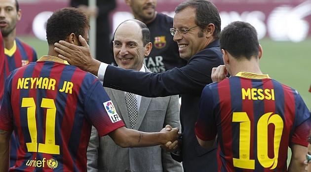 La Fundaci�n del Barcelona y la de Neymar firman un acuerdo de colaboraci�n