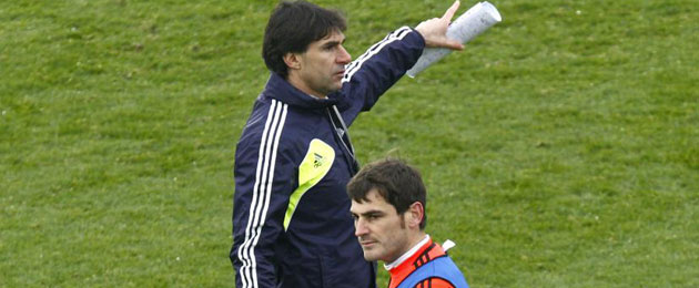 Karanka: No sé si Casillas entendió su suplencia