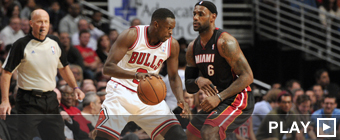 Luol Deng y LeBron James