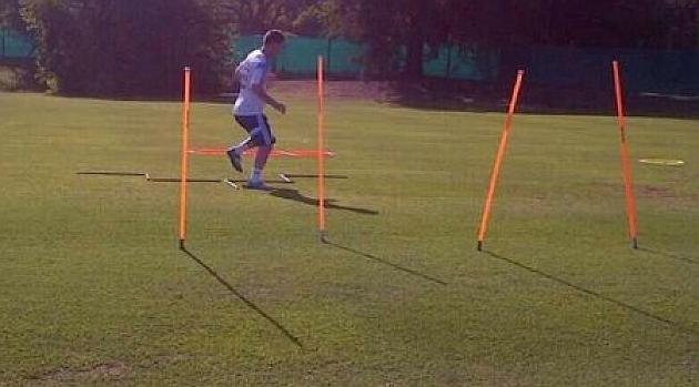 Messi: Sigo trabajando en mi recuperaci�n