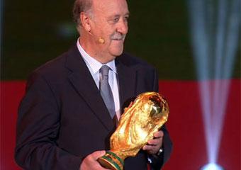 Del Bosque: Será muy difícil pero intentaremos ganar de nuevo el Mundial