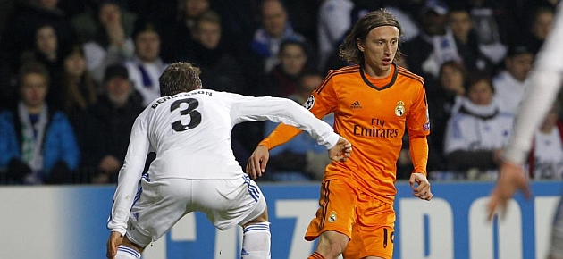 Modric: Shades of Old Trafford