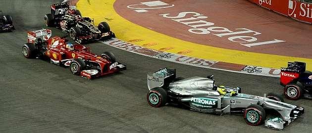 Mediapro abre la puja por los derechos de la F1