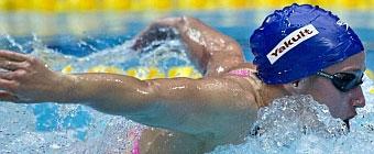 Mireia Belmonte, oro y nuevo récord de Europa en los 200 mariposa