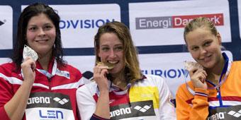 Segundo oro para Mireia en los Europeos de piscina corta
