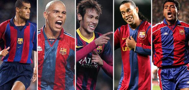 Neymar follows in Ronaldinho's wake