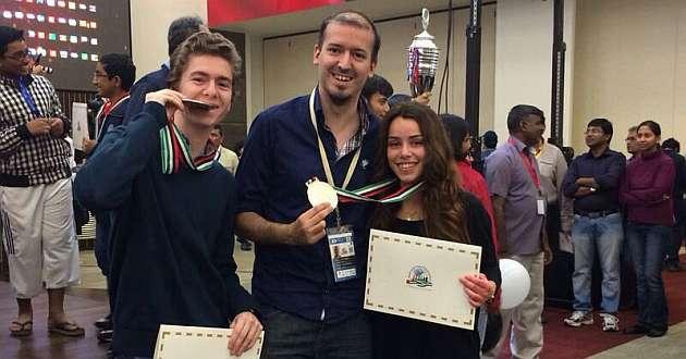 David Antón e Irene Nicolás, plata en los mundiales