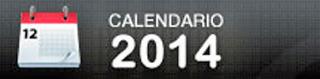Calendario deportivo de 2014