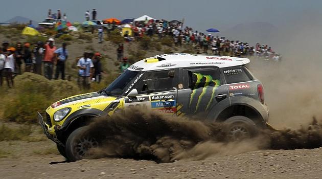 Nani Roma es el nuevo l�der del Dakar en coches / Foto: Ram�n Navarro.