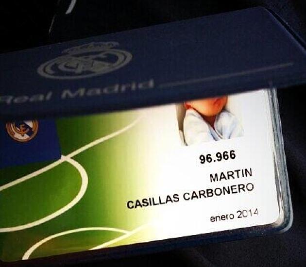Martín Casillas ya es socio del Real Madrid