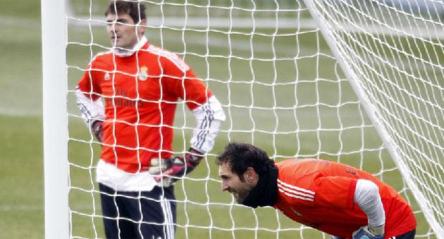 Diego L�pez, listo para el Espanyol