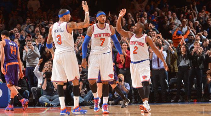 Los Knicks importan el 'catenaccio' para convertirse en equipo de playoffs