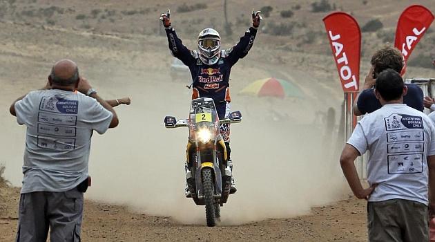 Coma logra su cuarto Dakar