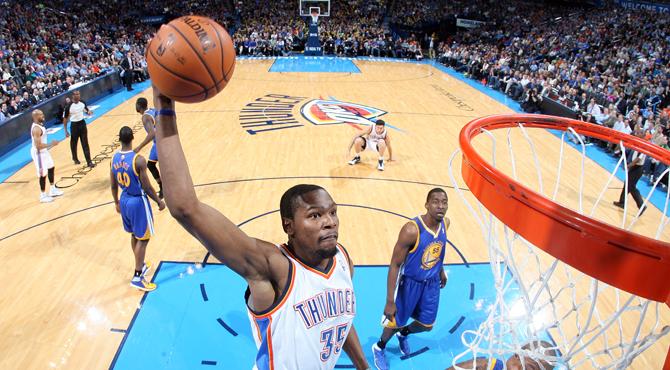 La mayor exhibición de MVP Durant. Jornada NBA ac004f343326c