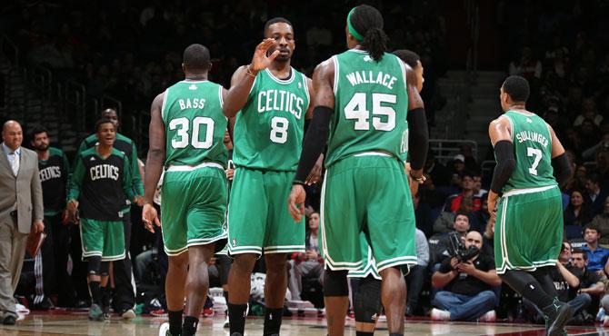 Boston recupera su orgullo con 39 puntos y 8 triples de Green mientras Nueva York se entierra