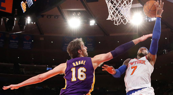 Pau Gasol se asienta como 'Mr. Doble-doble' en el Madison