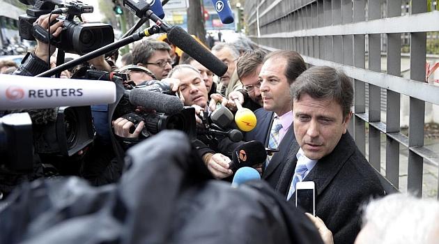 Eufemiano Fuentes en una imagen durante el juicio hace un año. JUAN AGUADO