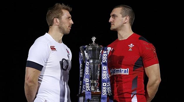 Robshaw y Warburton parecen retarse; Inglaterra y Gales parten como favoritos / AFP