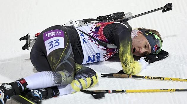 La eslovaca Kuzmina revalida el oro en los 7,5 kilómetros esprint