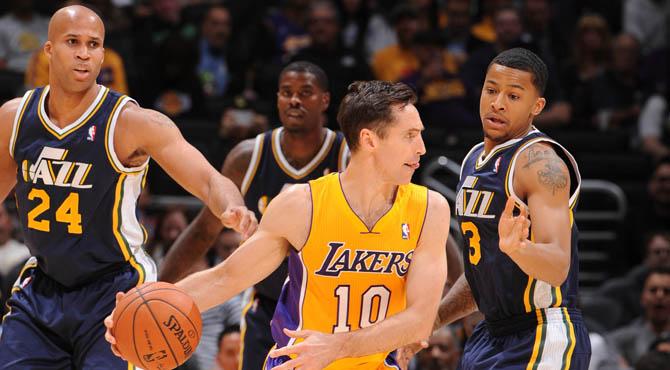 LeBron abrasa con 37 puntos el d�a en que los Lakers igualaron su peor racha local