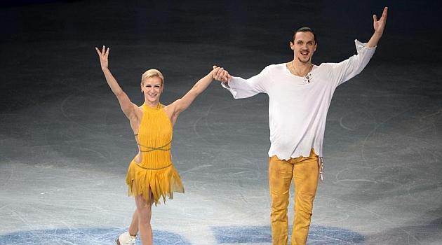 Volosozhar y Trankov lideran el doblete ruso en parejas