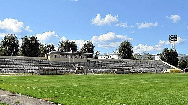 Aspecto del Rubin Stadium, designado por la UEFA para el partido de vuelta. D. GORDIIKO