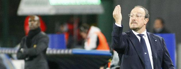 Ben�tez: Del Bosque y su equipo est�n vigilando a Callej�n