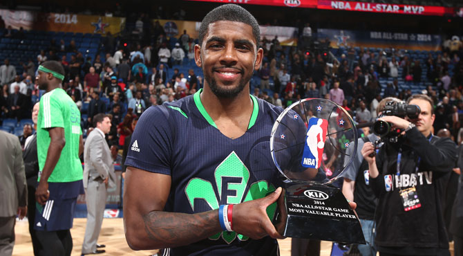 Kyrie Irving, MVP del All Star, heredero de LeBron James