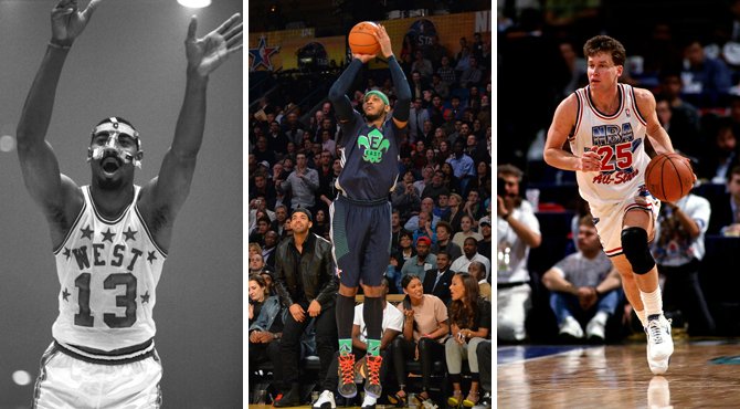 Irving, Durant, Melo y compañía convierten el All Star en la fiesta de los récords