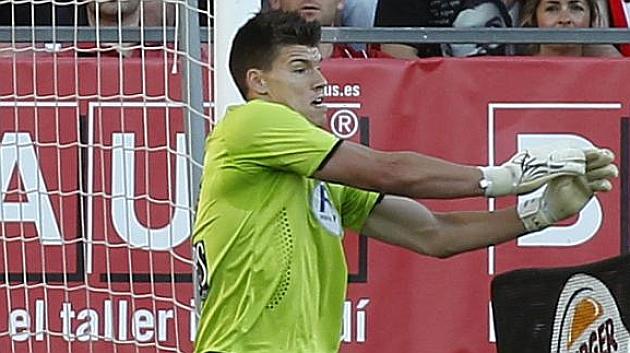 Isaac Becerra renueva con el Girona hasta 2016