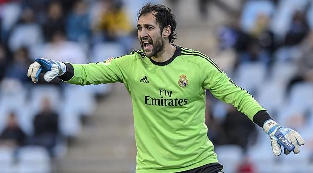 Diego L�pez, durante un partido del Madrid. / DIEGO G. SOUTO (MARCA)