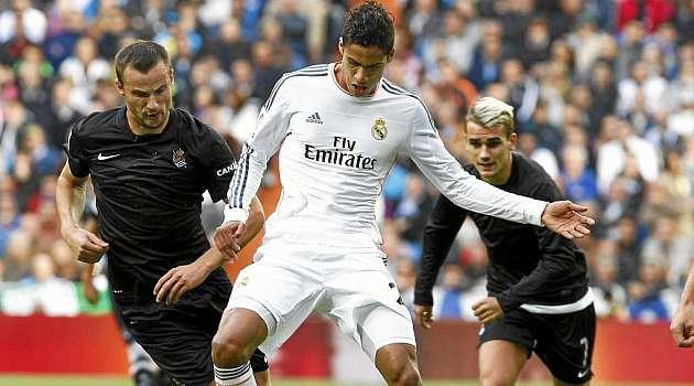 Varane vuelve al Bernabéu 106 días después