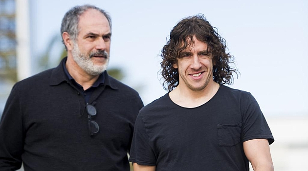 Puyol told me to be quick in signing a new centre-back