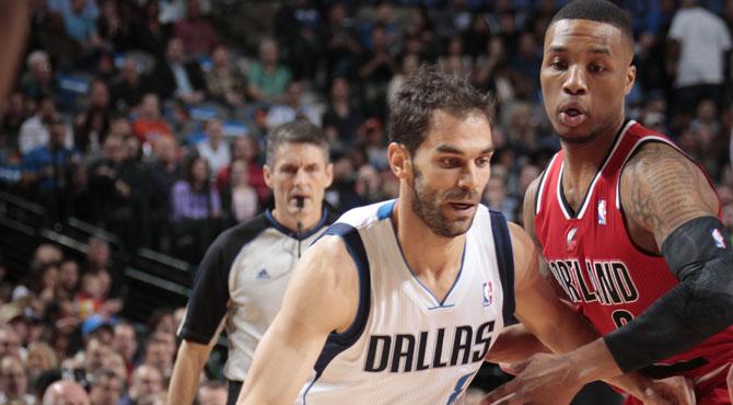 Calder�n anota 19 puntos y Dallas casi pierde treinta puntos de renta