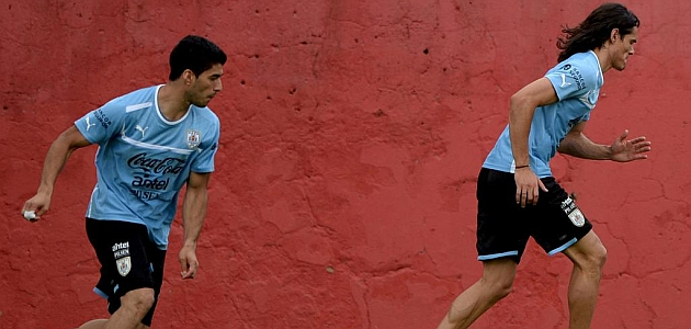 Suárez y Cavani, el mejor ataque del mundo
