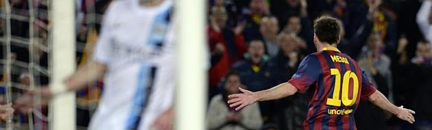 Messi trae la paz