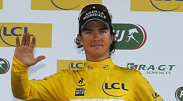 Betancur, primer colombiano que gana la París-Niza