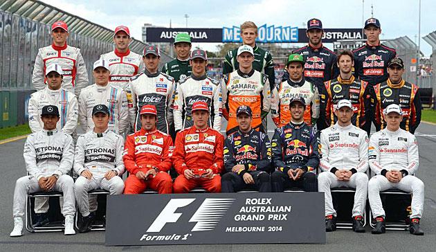 Los actores del Mundial de F1