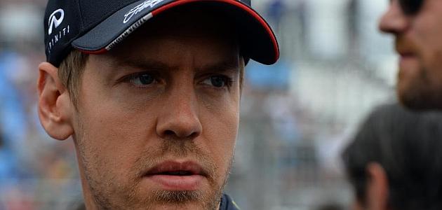 Vettel: El motor no ten�a potencia; es muy decepcionante