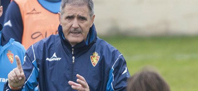 El Zaragoza destituye a Paco Herrera