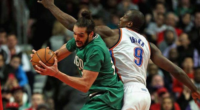 'Jordanizaci�n' de Durant y sublimaci�n de Ibaka ante los 'Celtics de Chicago'