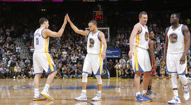 'Microondas' Curry lidera a los mejores Warriors en dos d�cadas
