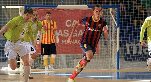 El Barcelona sufre para vencer a Manacor