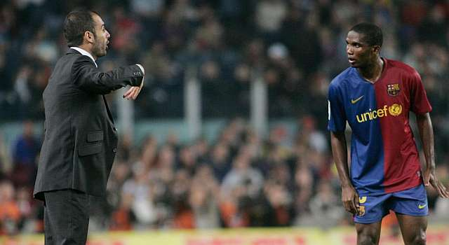 Eto'o: Guardiola no fue un gran jugador