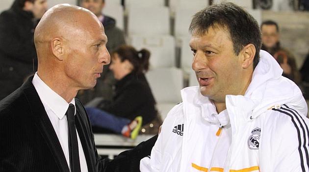 Miquel Olmo y Jos� Manuel D�az, nuevos entrenadores de Sabadell y Castilla / Joma (Marca)