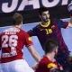 El Barcelona sentencia al Aalborg tras el descanso